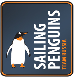 logo sailing penguins