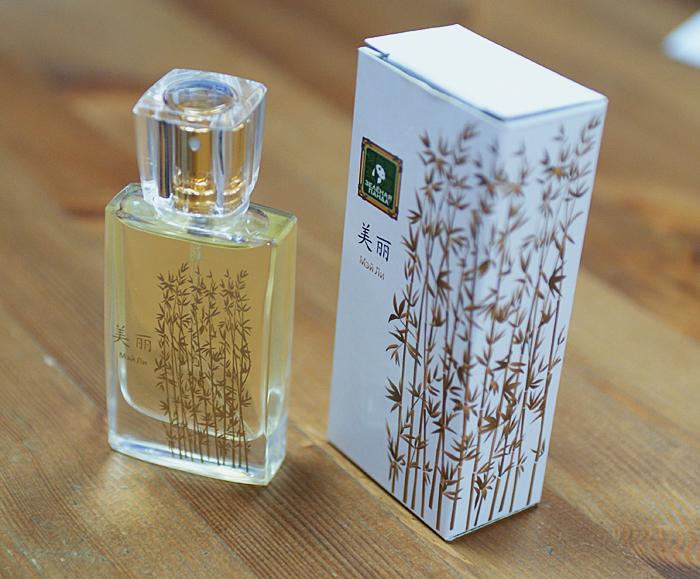 mei li green tea parfume